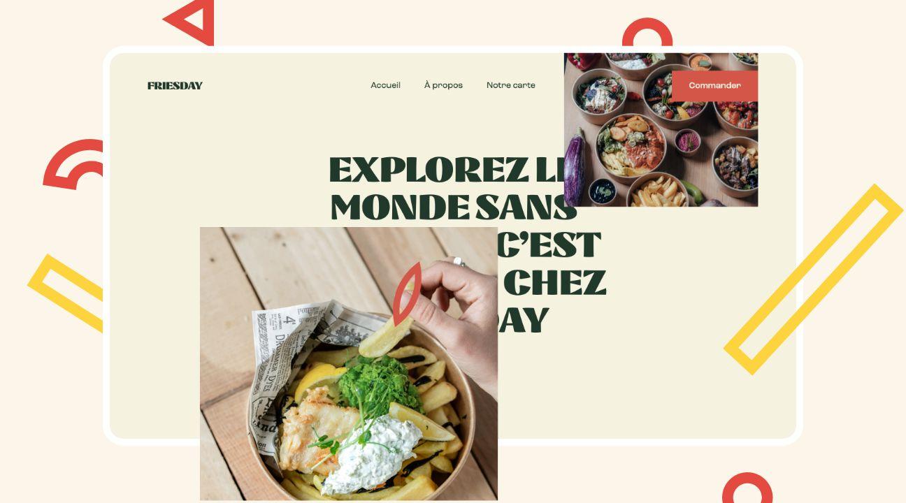 creation site internet friesdya homepage