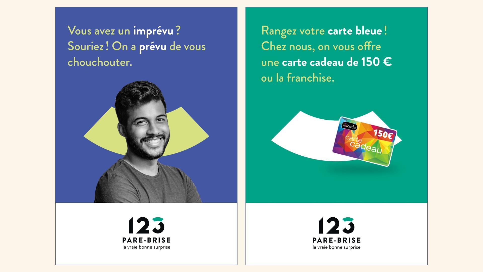 affiche test campagne 123 pare-brise