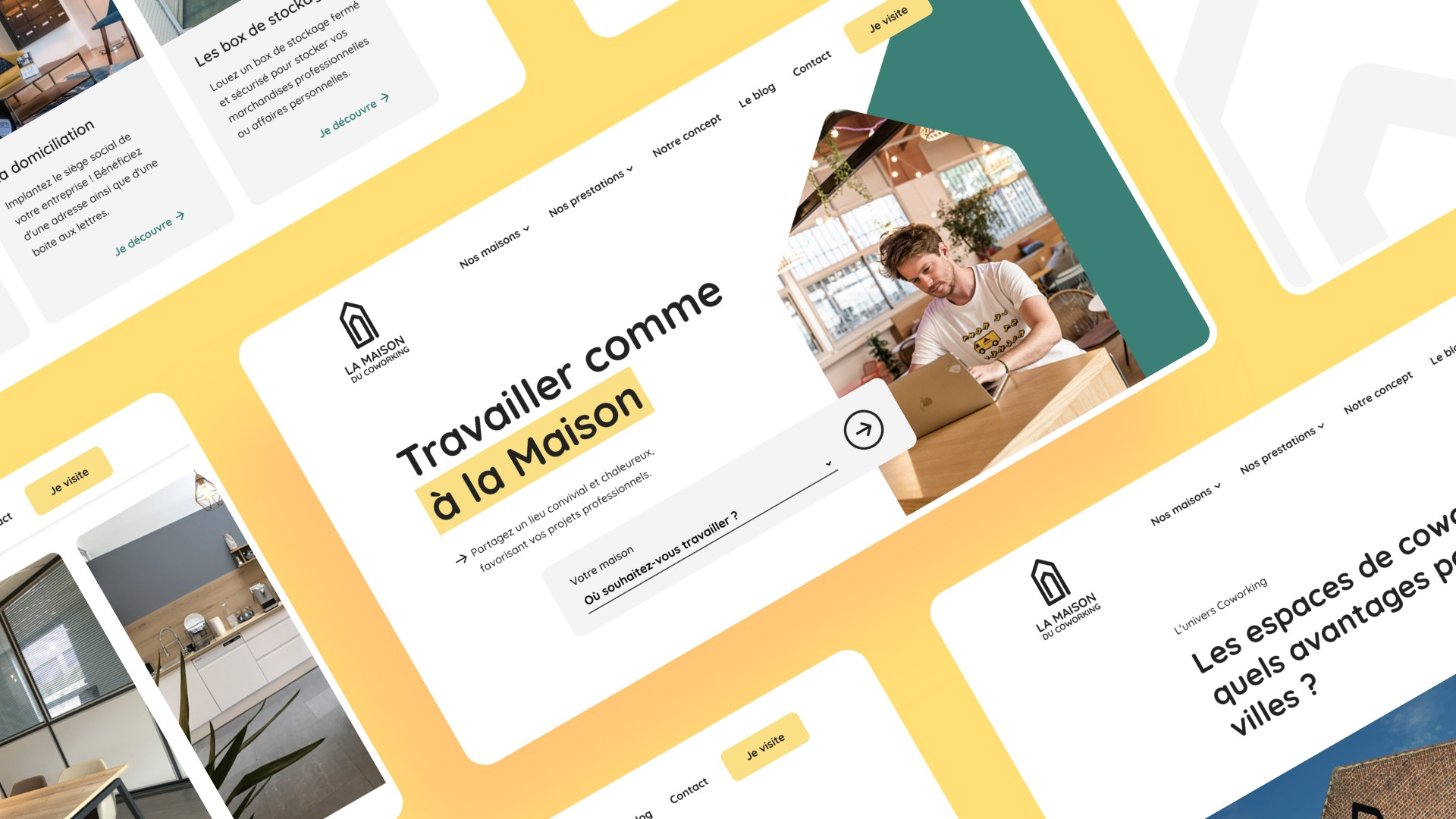 refonte site web coworking lille